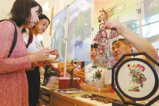 """""""主角""""陕西展示历史与现代、传统与时尚"""