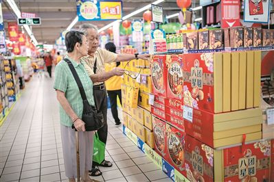 广州:月饼包装做减法 超三层算过度包装