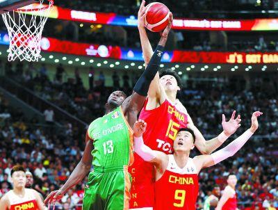 2019年国际篮联篮球世界杯中国男篮首战告捷