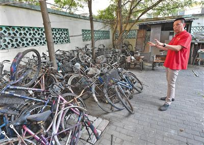 探访小区存废旧自行车清理问题:僵尸物品清理需主人点头