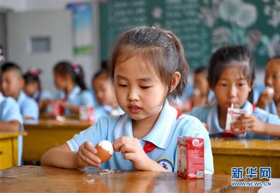(教育)(2)河北:农村小学生享受免费营养餐