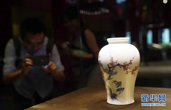 (文化)(2)故宫举办中国古代花木题材文物特展