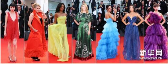 (國際·編輯連線)(1)威尼斯電影節:紅毯上的時裝秀