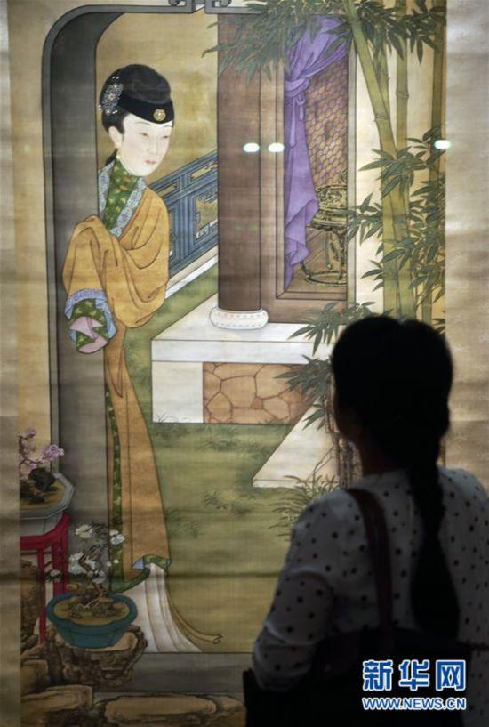 (文化)(7)故宫举办中国古代花木题材文物特展