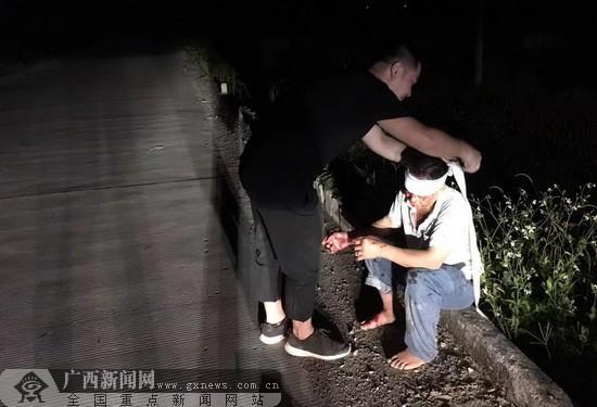 環江:駐村工作隊員夜訪歸途施救獲贊譽