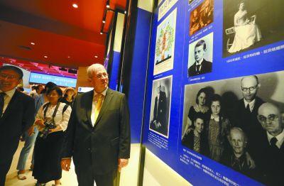 """中国人民抗日战争纪念馆151幅照片见证""""拉贝事�!�"""