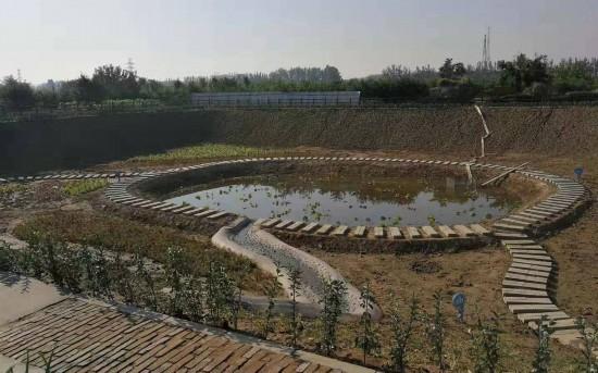 大兴首个功能型湿地公园在安定镇建成