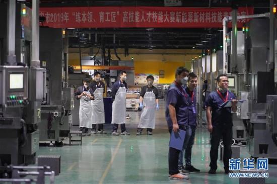 (科技)(7)西安:职业技能竞赛引入硬科技项目