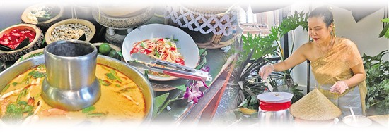 """泰国餐桌【泰国""""国汤"""