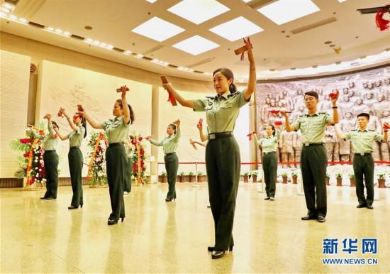"""(社会)(1)西柏坡:用青春讲述""""初心""""的""""百灵鸟"""""""