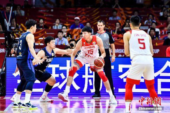 2019年国际篮联篮球世界杯排位赛 中国队77:73战胜韩国队