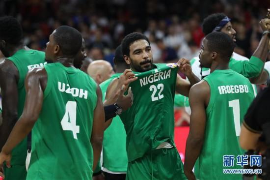 (篮球世界杯)(80)篮球――小组赛第二阶段:中国队负于尼日利亚队