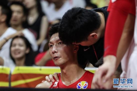 (篮球世界杯)(75)篮球――小组赛第二阶段:中国队负于尼日利亚队