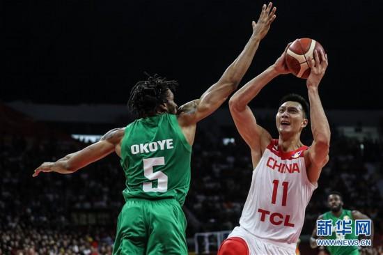 (篮球世界杯)(26)篮球――小组赛第二阶段:中国队负于尼日利亚队