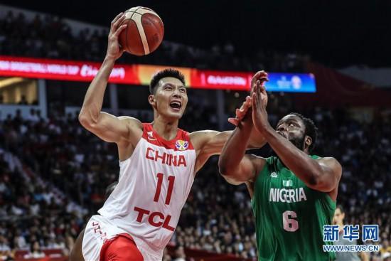 (篮球世界杯)(3)篮球――小组赛第二阶段:中国队负于尼日利亚队