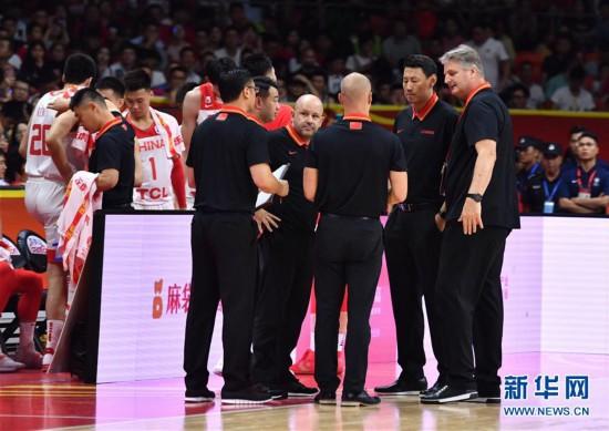 (篮球世界杯)(42)篮球――小组赛第二阶段:中国队负于尼日利亚队