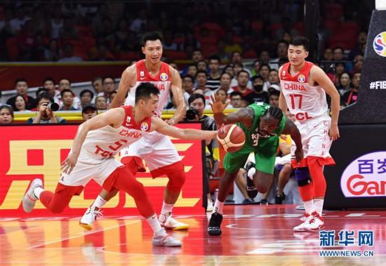 (篮球世界杯)(40)篮球――小组赛第二阶段:中国队负于尼日利亚队