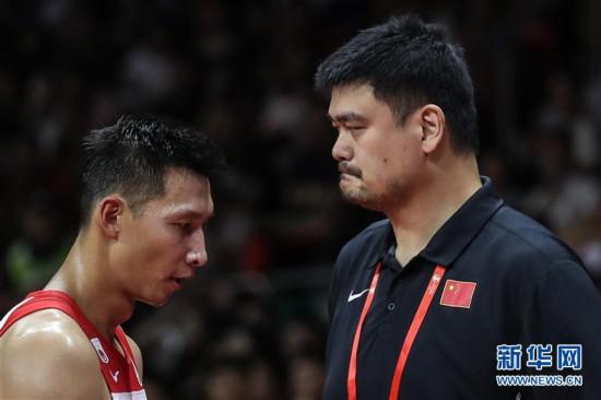 (篮球世界杯)(69)篮球――小组赛第二阶段:中国队负于尼日利亚队
