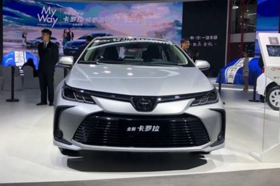 2019成都车展 一汽丰田十余款车型集体亮相