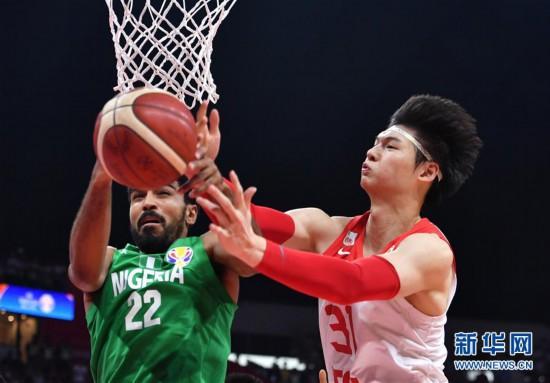 (篮球世界杯)(8)篮球――小组赛第二阶段:中国队负于尼日利亚队