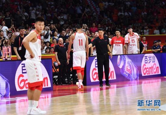 (篮球世界杯)(48)篮球――小组赛第二阶段:中国队负于尼日利亚队