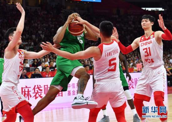(篮球世界杯)(44)篮球――小组赛第二阶段:中国队负于尼日利亚队