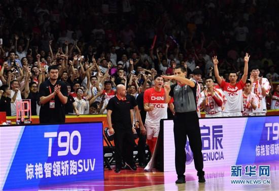 (篮球世界杯)(47)篮球――小组赛第二阶段:中国队负于尼日利亚队