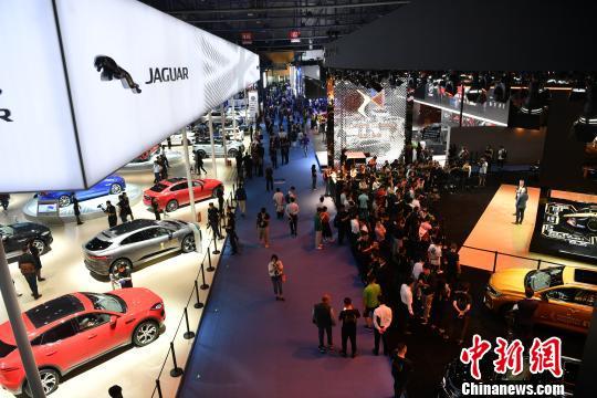 全球130多个汽车品牌云集成都国际车展
