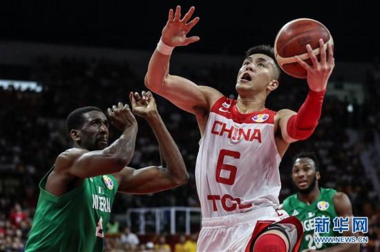 (篮球世界杯)(60)篮球――小组赛第二阶段:中国队负于尼日利亚队