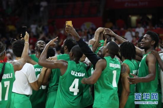 (篮球世界杯)(79)篮球――小组赛第二阶段:中国队负于尼日利亚队