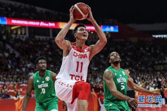 (篮球世界杯)(13)篮球――小组赛第二阶段:中国队负于尼日利亚队