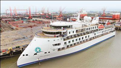 海门邮轮制造业在崛起 带来千亿级产业集群