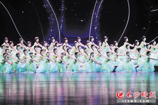 梅溪湖大剧院的精彩演出。长沙晚报全媒体记者王志伟 摄