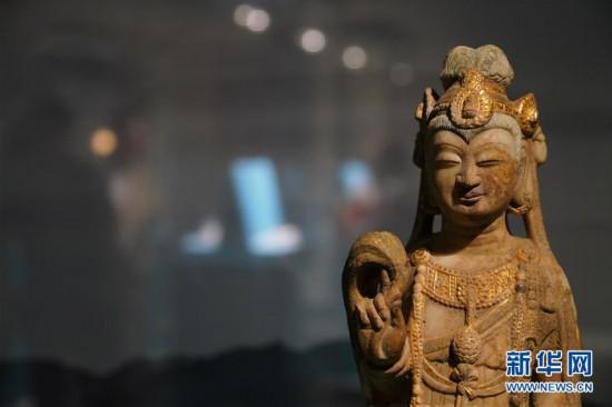 """(文化)(8)""""与天久长――周秦汉唐文化与艺术特展""""在北京举行"""