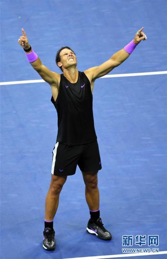 (体育)(6)网球――美网:纳达尔男单夺冠