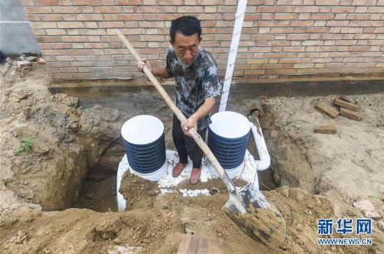 """(社会)(3)河北永清""""厕所革命""""提升农村人居环境质量"""