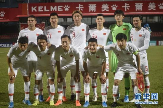 (体育)(27)足球――世界杯预选赛:中国对阵马尔代夫
