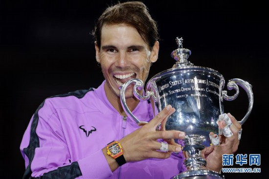 (体育)(1)网球――美网:纳达尔男单夺冠