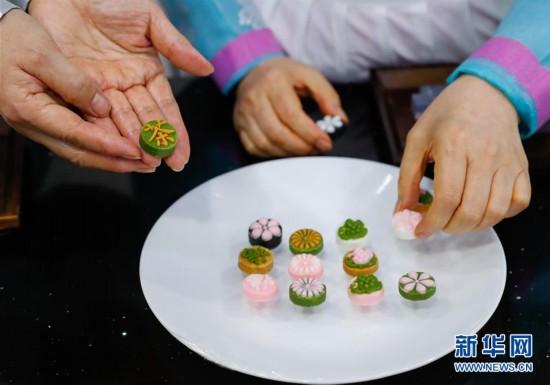 """(国际)(2)""""迎中秋""""世界各地传统糕点系列――韩国松饼和茶食"""