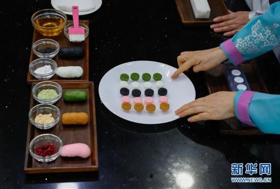 """(国际)(4)""""迎中秋""""世界各地传统糕点系列――韩国松饼和茶食"""