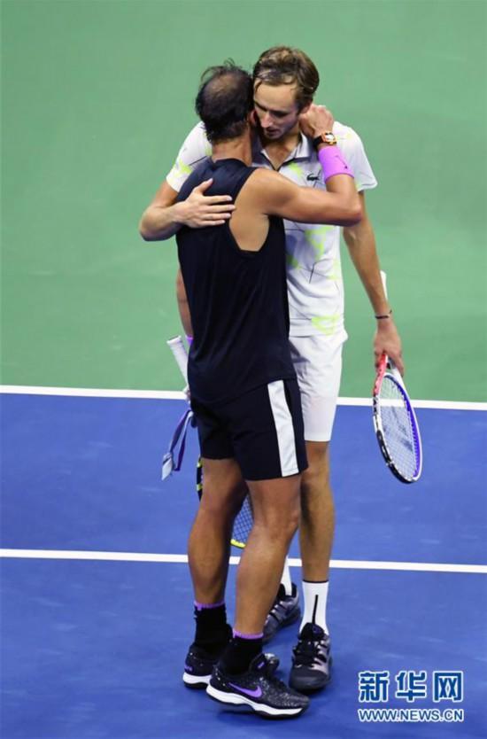 (体育)(8)网球――美网:纳达尔男单夺冠