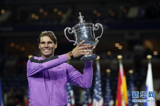 (体育)(3)网球――美网:纳达尔男单夺冠