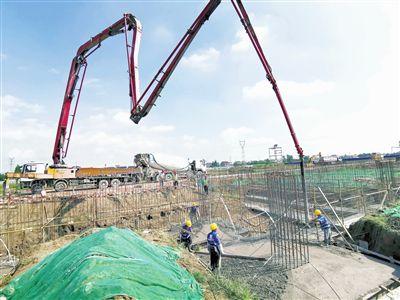 南通海门叠石桥现代国际物流园开建
