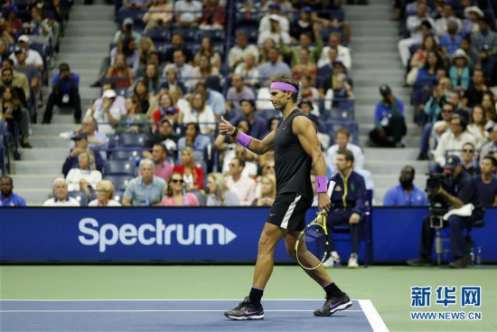 (体育)(26)网球――美网:纳达尔男单夺冠