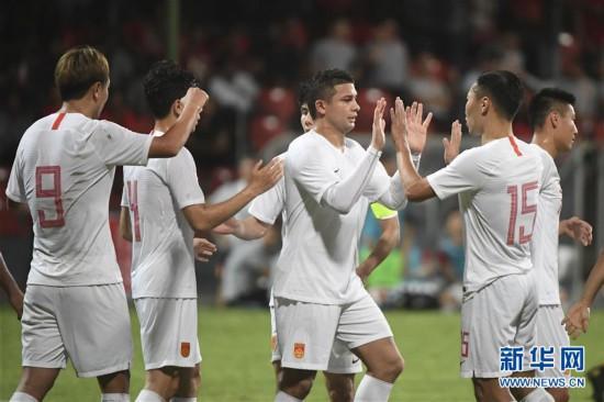 (体育)(31)足球――世界杯预选赛:中国对阵马尔代夫