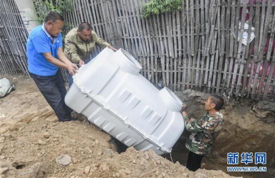 """(社会)(1)河北永清""""厕所革命""""提升农村人居环境质量"""