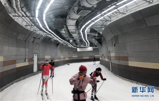 (体育)(2)探访亚洲首座四季全天候越野滑雪场