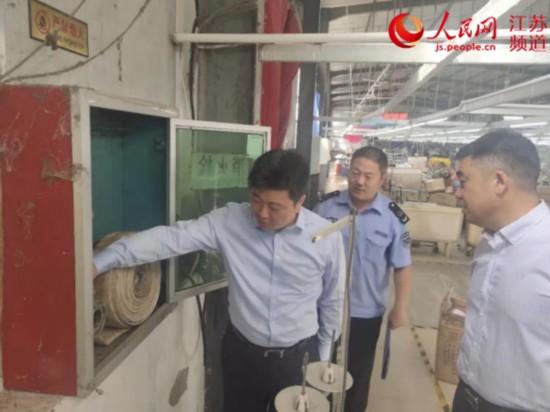 江苏灌云开发区开展安全生产检查 发出46份整改通知