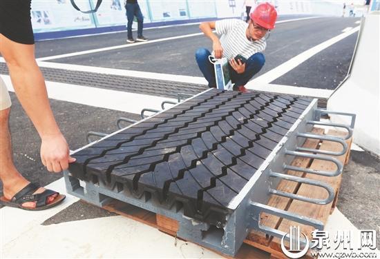 桥梁降噪减震橡胶伸缩装置