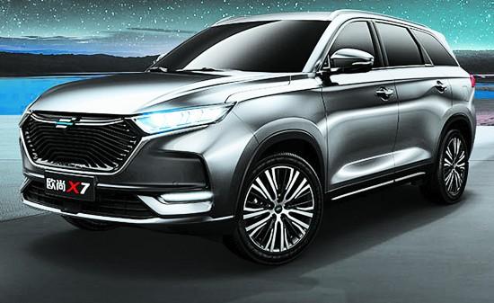 全新紧凑型SUV 长安欧尚X7重磅亮相成都车展